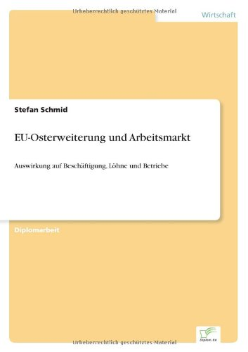 EU-Osterweiterung und Arbeitsmarkt: Auswirkung auf Beschäftigung, Löhne und Betriebe (German Edition)