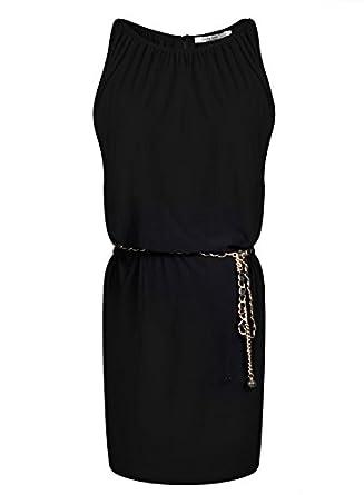 Monicaca Womens Celebrity Lace Splicing Evening Pencil Midi Bodycon Dress