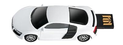Audi R8 V10 Sports Car USB Memory Stick 4Gb - White from AutoRegalia
