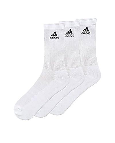 adidas Pack x 3 Calcetines Negro / Blanco