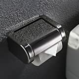 Stainless Steel Bathroom Toilet Paper Holder Tissue Box