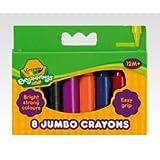 Crayola Beginnings 8 Jumbo Crayons