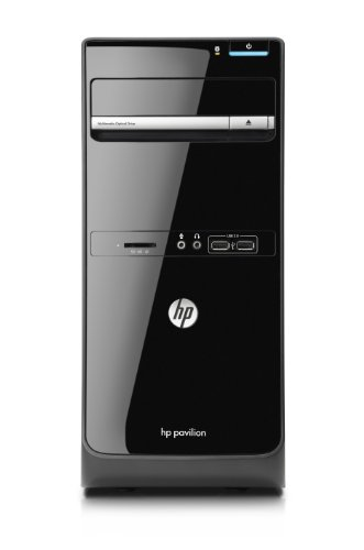 HP Pavilion p6-2019uk Desktop PC (Intel Core i3-2120 Processor 3.3GHz, RAM 6GB, HDD 1TB, Intel HD Graphics, Wireless, Windows 7 Home Premium 64 Bit)