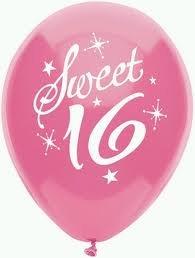 Amazon.com: Sweet 16 Birthday Party Balloons - 16th Birthday Balloons