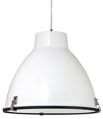 Searchlight 1 lampes bronze verre craquelé pendentif lustre plafonnier NEUF