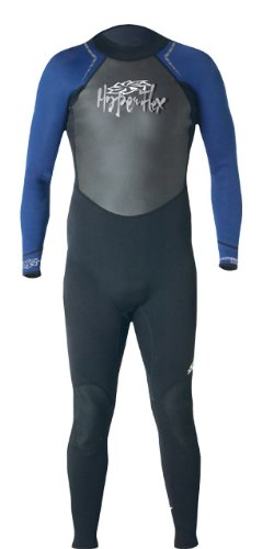 Hyperflex Wetsuits Men's Access 3/2mm Full Suit, Black/Blue, X-Large - Surfing, Windsurfing & Wakeboarding