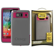 Otterbox Defender Series Case For Motorola DROID RAZR HD XT926 Thermal Pink Grey
