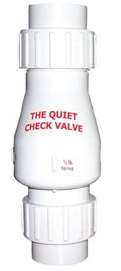 CHECK VALVE QUIET WHT 2