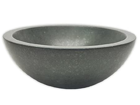 Small Black Basalt Vessel Sink