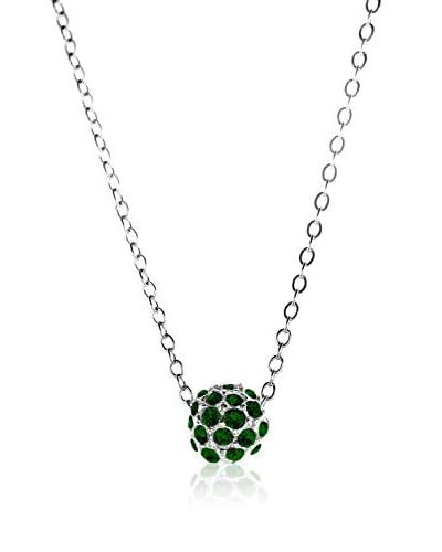 Passion Obscure Collana  Argentato/Verde