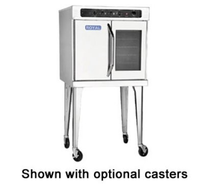 Electric Stove With Convection Oven front-23218