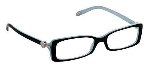 Tiffany & Co TF2035 Eyeglasses 8055 Top Black/Blue Demo Lens 52mm