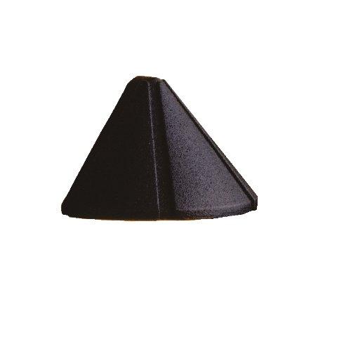 Kichler Lighting 15765Bkt27 Mini Design Pro 1.9W 2700K Led Deck Light, Textured Black Finish