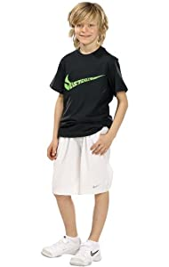 Nike Boys Shorts (Small, White)