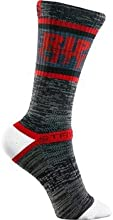 Strideline Portland Trail Blazers Rip City Charcoal Adult Crew Socks