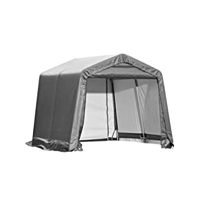 ShelterLogic 10X10X8 E Series Shed (Gray)