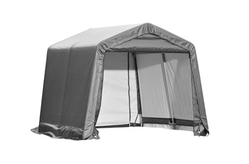 ShelterLogic 10X10X8 E Series Shed (Gray)