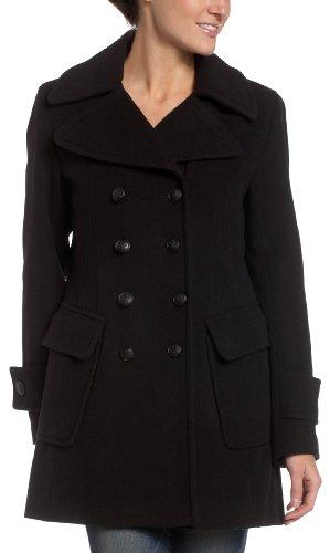 Esprit hooded pea coat