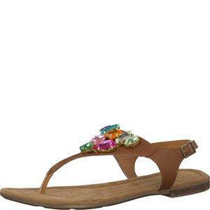 S. Oliver Shoes 5-5-28135-36/305, Sandali donna, marrone (cognac), 40