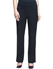 M&S Collection Welt Pocket Wide Waistband Trousers