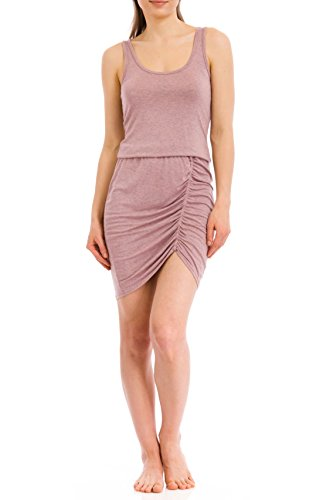 Hard Tail Sidewinder Dress, Rose, Medium