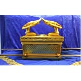 Extra Large Gold Covered Ark of The Covenant