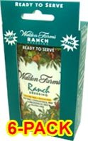 Walden Farms Ranch Salad Dressing Packet 1 oz 6/pk Case of 6