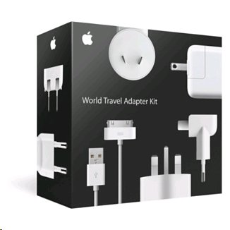 Apple M8794G/B World Travel Adapter Kit (Discontinued by Manufacturer)