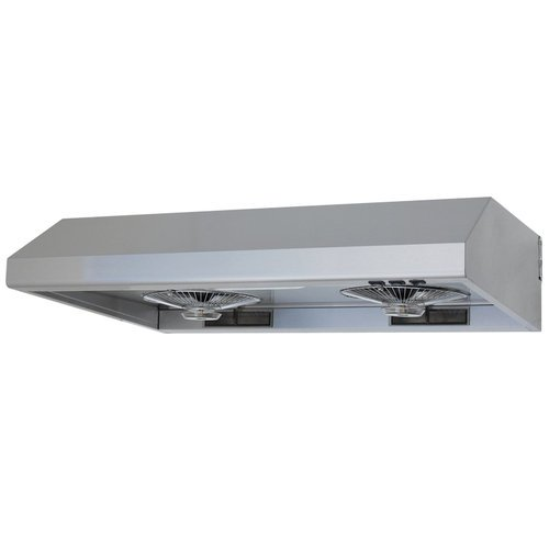 Contemporary Range Hood front-30645