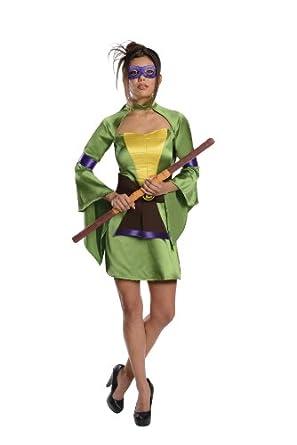 Secret Wishes Teenage Mutant Ninja Turtles Donatello Costume, Green, X-Small