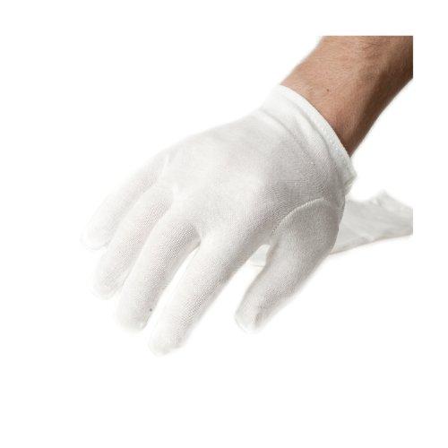 Incutex-3-Paar-Stoffhandschuhe-aus-100-Baumwolle-ideale-Arbeitshandschuhe-und-Unterziehhandschuhe-wei