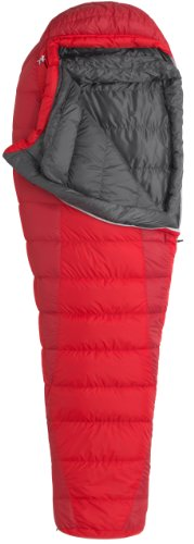 Marmot Always Summer Down Sleeping Bag, Regular-Left, Red