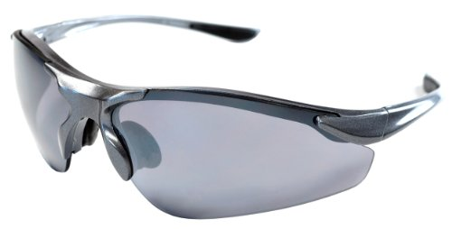 JiMarti Men's Falcon Sunglasses,Gunmetal Grey