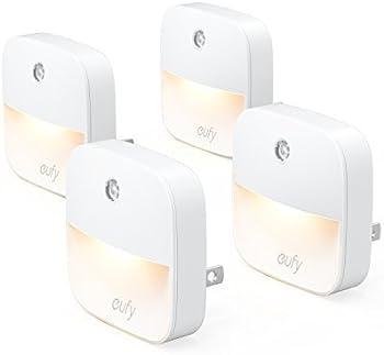 4-Pack. Eufy Lumi Plug-In Light Sensor LED Night Light