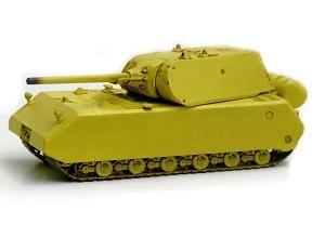 Easy Model 36206 - Tanque MAUS usado por el ejército alemán [importado de Alemania]