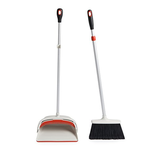 OXO Good Grips Sweep Set with Extendable Broom, Large (Broom And Dustpan With Handle Set compare prices)