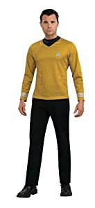Rubies Mens Captain Kirk Star Trek Adult Costume