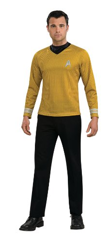 Star Trek Gold Star Fleet Uniform Halloween Costume Idea