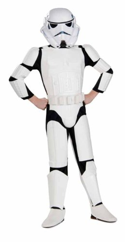 Stormtrooper Deluxe Child Costume W 2 Piece Mask 883035