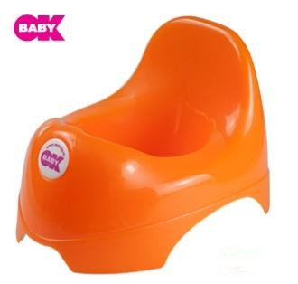 Okbaby Portable Child Step By Step Potty Seated Toilet Trainer K1225 (Orange) front-159307