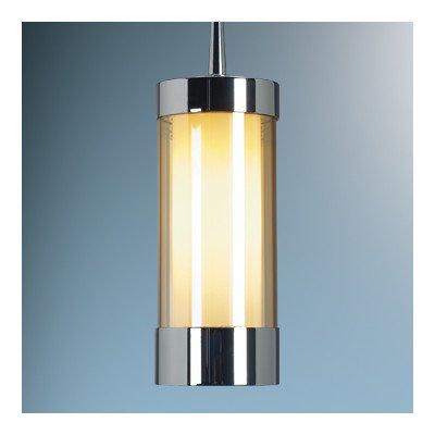 "Silva 1 Light Monopoint Mini Pendant Finish: Bronze, Canopy/Bulb Type: 4"" Kiss Canopy/Led, Glass Color: Red"
