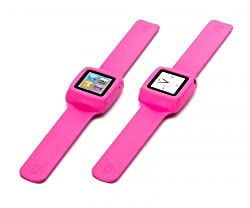 Griffin GB02197 Slap Band Case for iPod Nano 6 (Pink)