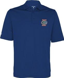 Florida Gators Blue Exceed Desert Dry Polo Shirt by Antigua