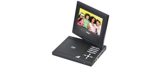 31rcDX59eUL NAXA 9 TFT LCD Swivel Screen Portable DVD Player with Built in Digital TV Tuner and USB/SD/MMC Inputs (NPDT 951)