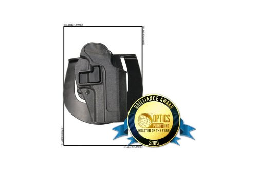 BlackHawk Right Hand Black Holster For Glock 17/22 Md: 413500BKR .