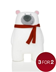 Peter the Polar Bear Christmas Room Decoration
