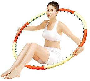 Magnetic Health Hula(Hoola) Hoop II - Weighted/Exercise/Sports