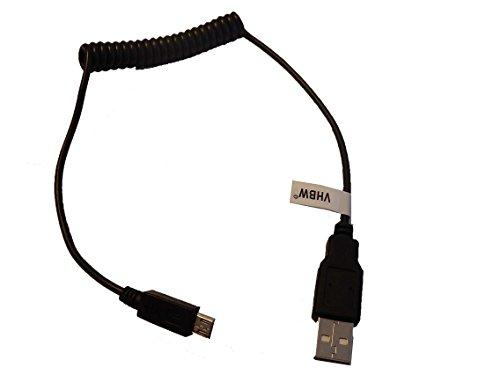 vhbw USB Kabel auf Micro USB flexibel für Huawei WLAN Router E5, E5331, E5332, E5151, E5220, E560, E586, E586C, E587