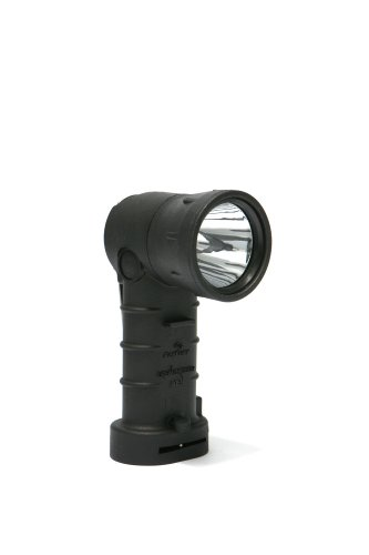 Foxfury 380-Bt3-Bl Breakthrough Bt3 Right Angle Led Flashlight, 600 Lumens, Black
