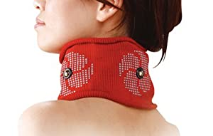 Medical Magnetic Neck Supporter New Warm Relief Comfortable Healing Red by Banrai